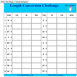 Length Conversion Challenge