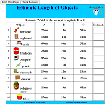 Estimate Length of Objects